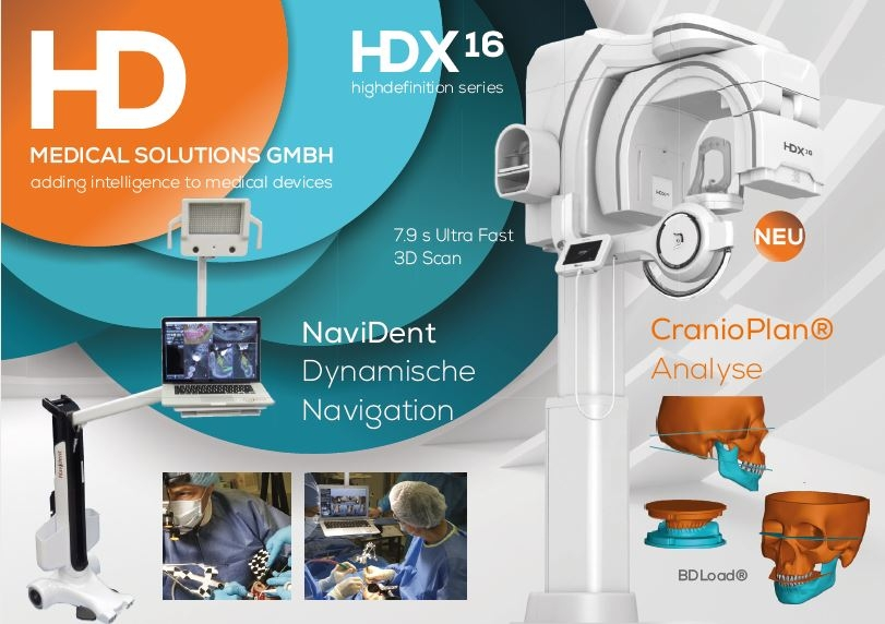 HDX 16x14.5 Complete CBCT ENT and Radiology